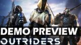 (Live) Outriders Demo Preview – Official Broadcast
