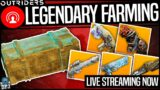 OUTRIDERS LEGENDARY FARM – Best New & Old Farm Methods – Live Stream Full Highlights
