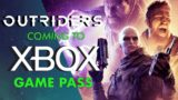 Outriders Coming to Xbox Game Pass | Huge Deal for the Service | Xbox Series X / S Optimised