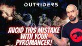 Outriders Pyromancer NEEDS Weapon & Skill Leech!