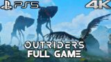 OUTRIDERS PS5 Gameplay Walkthrough FULL GAME (4K 60FPS) No Commentary