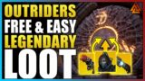 Outriders – FREE LEGENDARY LOOT THAT IS INSANELY EASY TO GET!