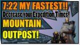 Outriders   CT 15 Technomancer   Speedrun Mountain Outpost 7:22!