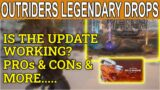 OUTRIDERS New Legendary Drops Rate- Is It Working? PROs And CONs & Hells Rangers Pack Big Change