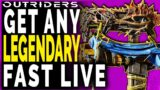 Outriders GET ANY LEGENDARY FAST – FARMING with Members – Farm Legendaries