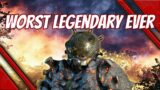 outriders this is the worst legendary item in the game – do not wear this armor – worst tier 3 mod