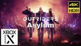 Outriders – Asylum. Fast and Smooth. Xbox Series X. 4K HDR 60 FPS.